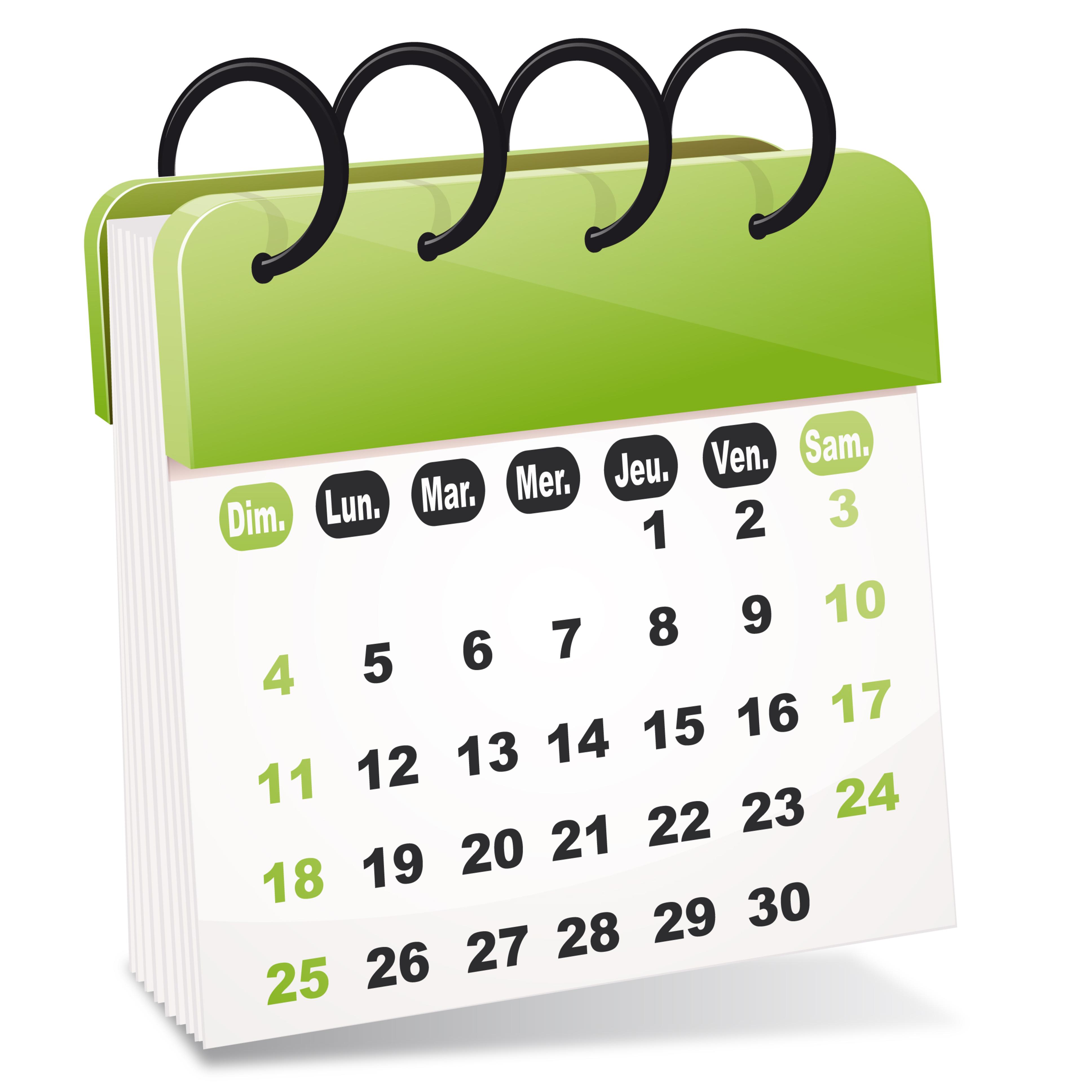 Calendrier rencontre 2cv 2018